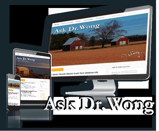 Ask Dr. Wong